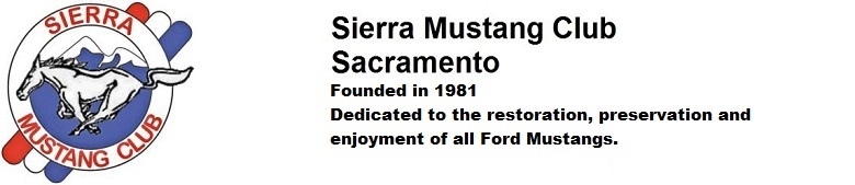 Sierra Mustang Club